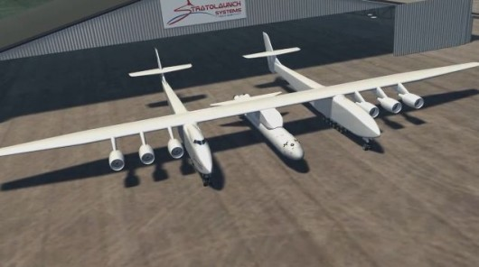 Многоразовый самолёт-носитель Stratolaunch Model 351