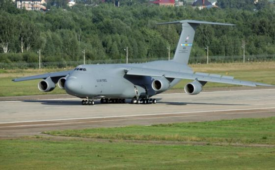 Стратегический военно-транспортный самолёт Lockheed C-5 Galaxy